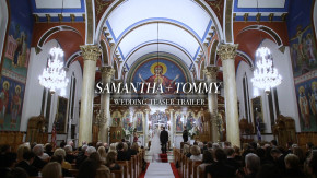 Wedding at annunciation Greek Orthodox cathedral