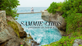 destination wedding at tensing pen in jamaica